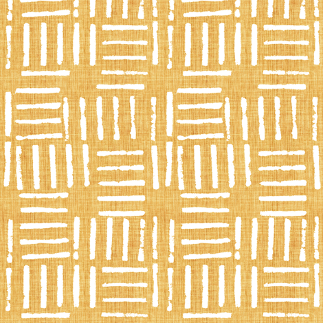 Wicket Press - Honey fabric by kristopherk on Spoonflower - custom fabric