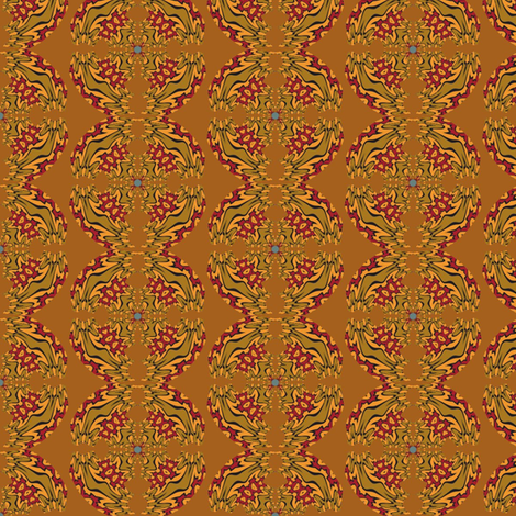 Victorian India fabric by david_kent_collections on Spoonflower - custom fabric