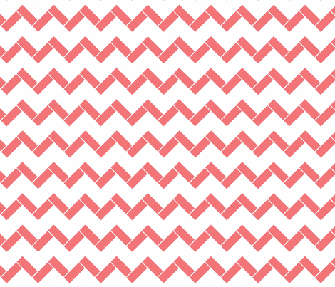Coral_Brick fabric by designedtoat on Spoonflower - custom fabric