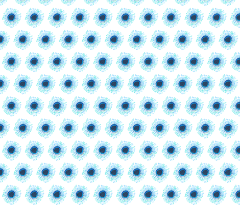 Blue Buttons fabric by wiccked on Spoonflower - custom fabric