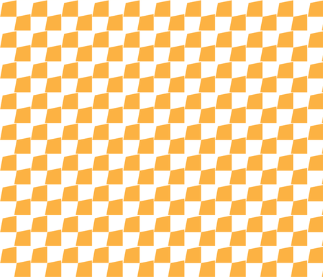Chequered_Flag_Gold fabric by designedtoat on Spoonflower - custom fabric