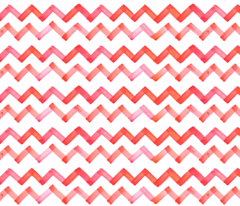 cestlaviv_pinkorange 18 ultra fabric by cest_la_viv on Spoonflower - custom fabric