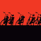 bicycle silhouettes