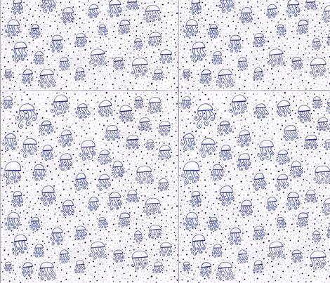 bluejelly fabric by thecozybarn on Spoonflower - custom fabric