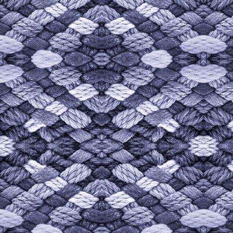 BLUE BASKET WEAVE fabric by bluevelvet on Spoonflower - custom fabric