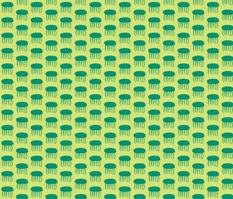 jellyfish fabric by joybea on Spoonflower - custom fabric