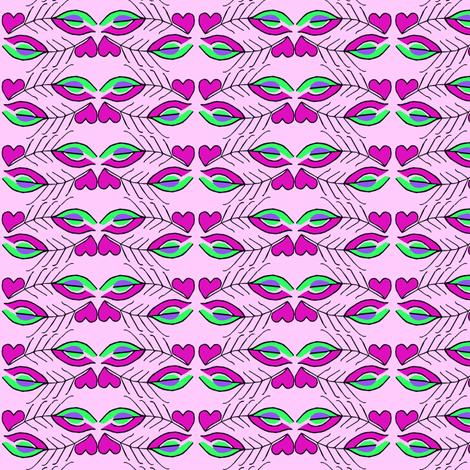 Pretty in Pink fabric by themasquerade on Spoonflower - custom fabric