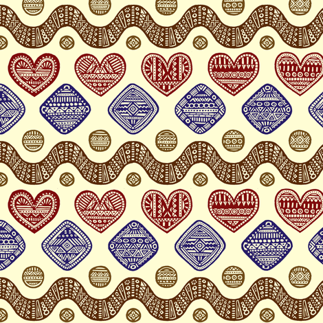 cookies fabric by simut on Spoonflower - custom fabric