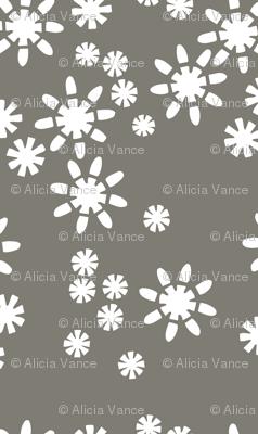 Cut Flowers Charcoal