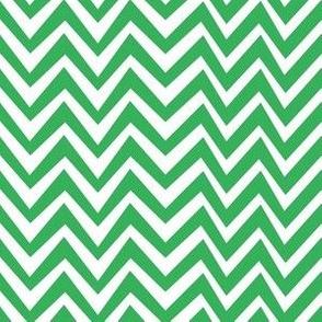 Green Chevron Dazzle