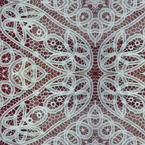Belgian Lace fabric by susaninparis on Spoonflower - custom fabric