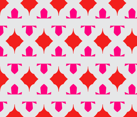 Ruby fabric by ashley_cooper_design_ on Spoonflower - custom fabric