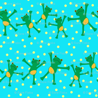 "Popeloning ""Frogs and Dots"""
