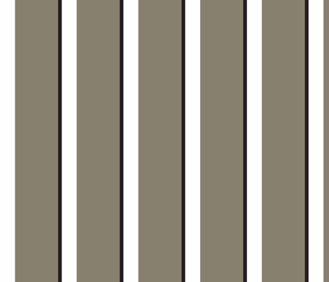 Classic_Taupe_Stripe fabric by designedtoat on Spoonflower - custom fabric