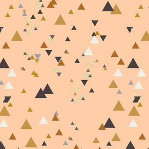 geometric triangles - colorway3