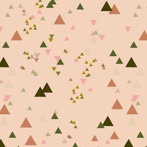 geometric triangles - colorway16