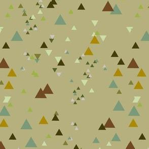 geometric triangles - colorway13