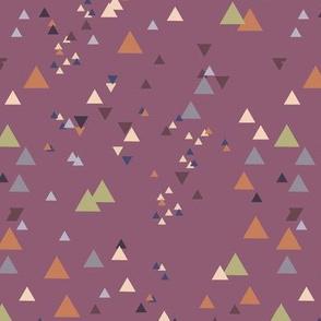 geometric triangles - colorway25
