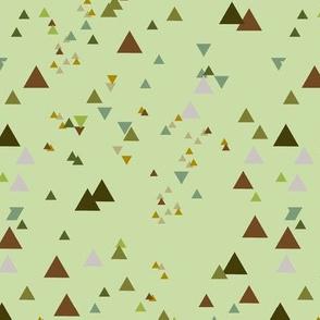 geometric triangles - colorway8