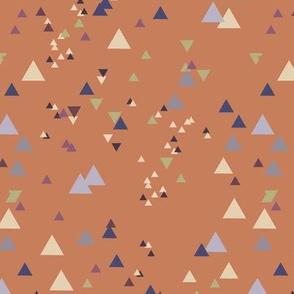 geometric triangles - colorway31