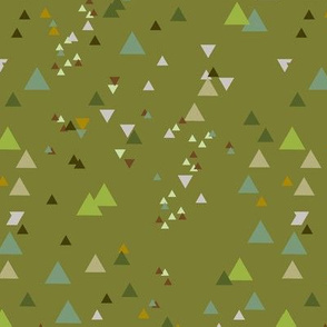 geometric triangles - colorway10