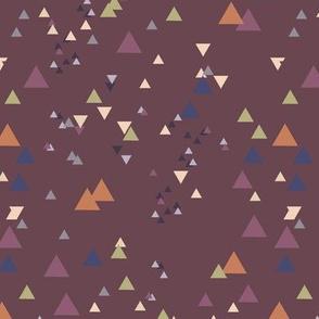 geometric triangles - colorway29