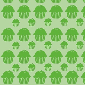 cupcake_grön