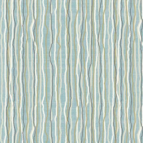 ocean stripe fabric by littlerhodydesign on Spoonflower - custom fabric