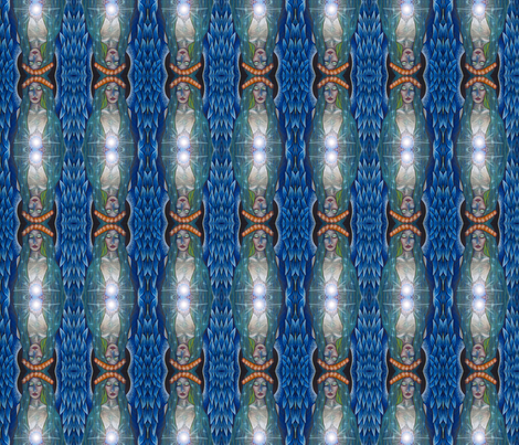 mystic angel fabric by krs_expressions on Spoonflower - custom fabric