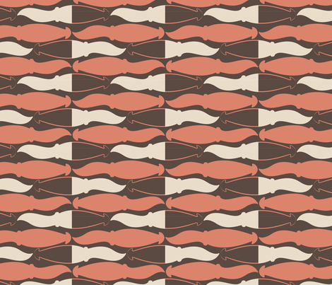 80s Calamari fabric by noaleco on Spoonflower - custom fabric