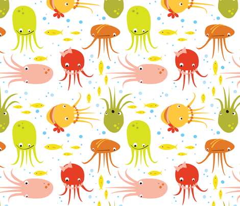 jelly_party fabric by betsybeans on Spoonflower - custom fabric