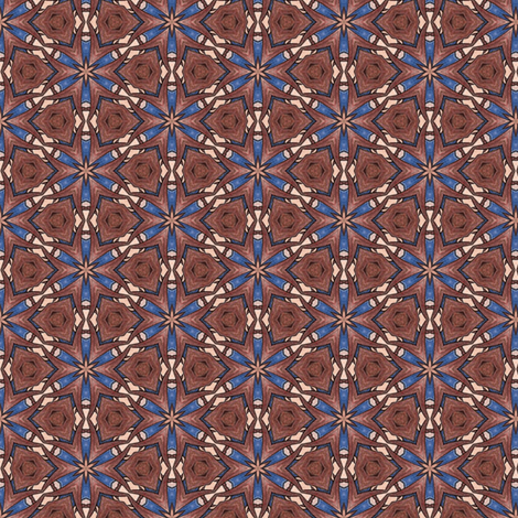 Toshio's Star Anise fabric by siya on Spoonflower - custom fabric
