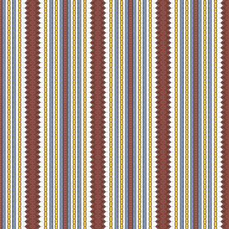 Toshio's Stripes fabric by siya on Spoonflower - custom fabric