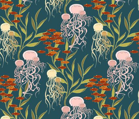 Meduzy fabric by meduzy on Spoonflower - custom fabric