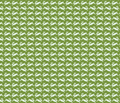 rabbit_spring fabric by holli_zollinger on Spoonflower - custom fabric