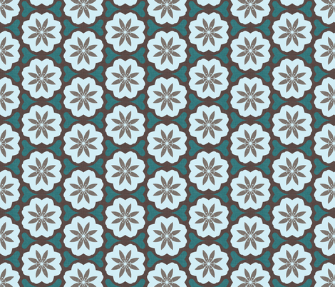 dutch_flowers_winter fabric by holli_zollinger on Spoonflower - custom fabric