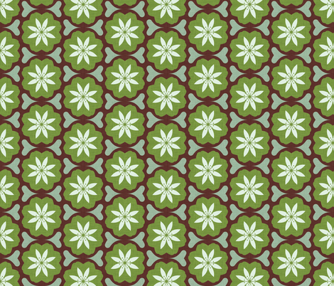 dutch_flowers_spring fabric by holli_zollinger on Spoonflower - custom fabric