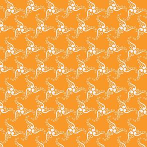 Spinner Orange Creme