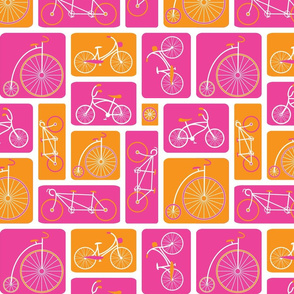 Pink Bicycle Love by ebygomm