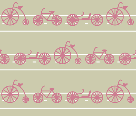 Ride fabric by planetpatricia on Spoonflower - custom fabric