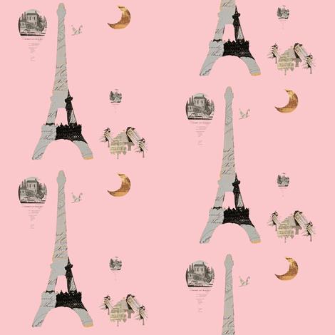 Eiffel Tower Pink