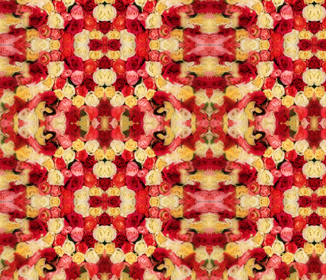 fragrent-roses-ed fabric by shaqx on Spoonflower - custom fabric