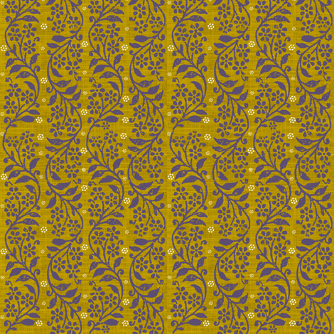 Prana Gold fabric by brainsarepretty on Spoonflower - custom fabric