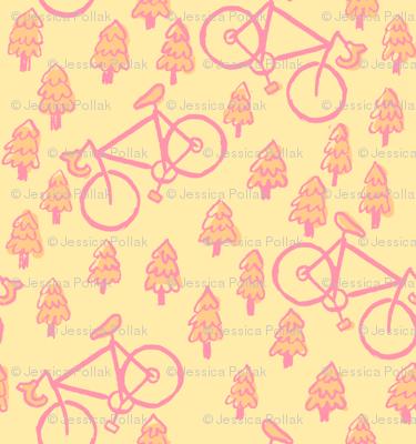 peach bikes