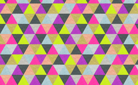 ocean of ▲ fabric by biancagreen on Spoonflower - custom fabric