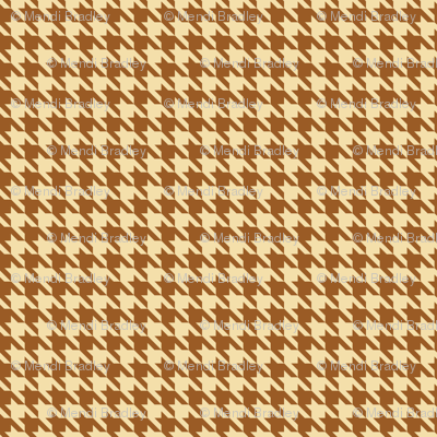 Coffee Houndstooth