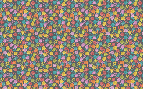 Roses fabric by biancagreen on Spoonflower - custom fabric