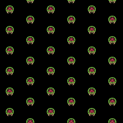 metroid repeat pattern fabric by jenny_j4 on Spoonflower - custom fabric