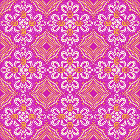 Tile Knot fabric by siya on Spoonflower - custom fabric