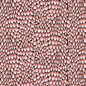 dragon - pink topaz